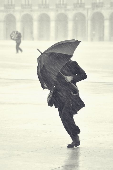 """Do not be angry with the rain; it simply does not know how to fall upwards.""  ― Vladimir Nabokov"