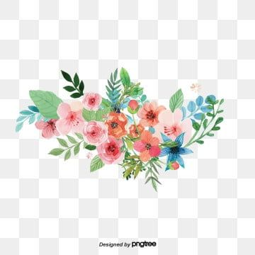 Flowers Vector Material Green Flower Png Transparent Clipart Image And Psd File For Free Download Vector Flowers Flower Illustration Flower Art