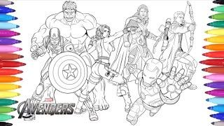 Desenhos Para Colorir Vingadores Thor Zoom Kit Para Colorir