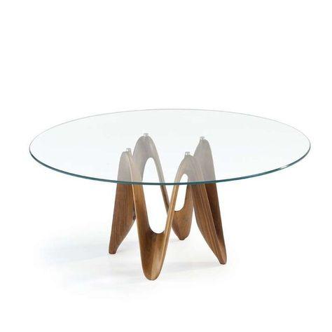 Table Ronde Design En Verre Lambda Sovet Design En Lambda
