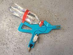 Air+powered+bottle+water+pistol+by+loska.