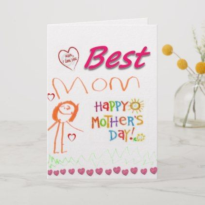 Mother S Day Greeting Card Zazzle Com Card Day Greeting Mothers Mothersdaygreetings Mother S Day Greeting Cards Greeting Card Shops Baby Birthday Card