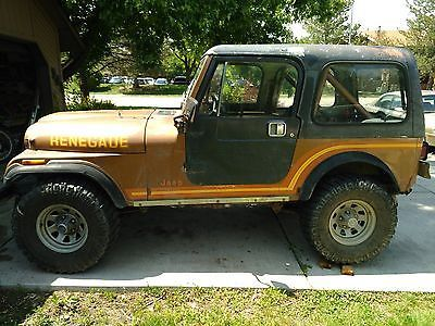 Classic Jeeps For Sale >> Ebay Jeep Cj Cj7 1985 Classic Jeep Cj 7 Renegade Sell