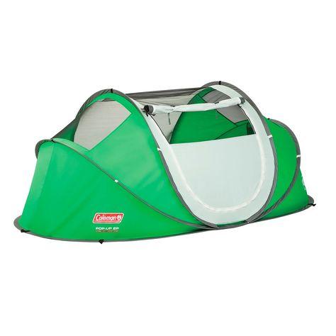 Galiano 2 Tente Vert Taille 2 Places Pop Up Tente Camping En Tente Camping