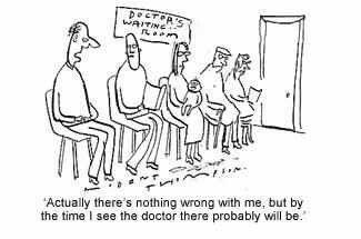 Doctor's Waiting Room Joke Cartoon jokes, Jokes, Cartoon