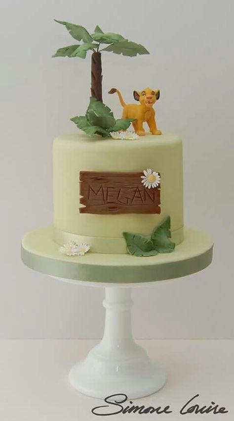 Lion king - Simba cake