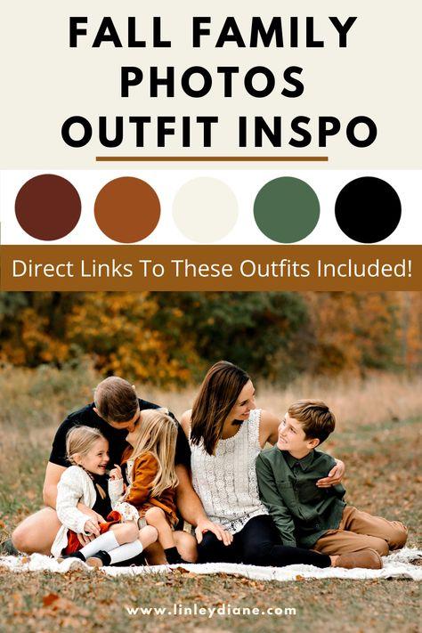 Fall Family Photos Outfit Inspo - Linley Diane