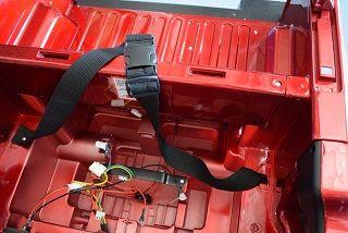 Recambio Cinturon Coche Bateria Para Ninos Ford Ranger 12v Dk
