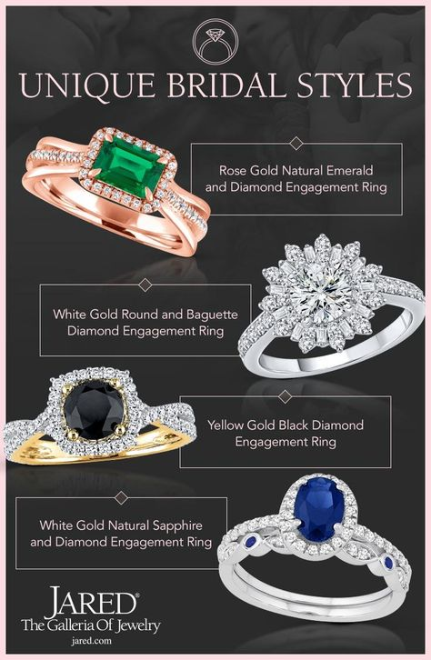 An Extraordinary Woman Deserves The Engagement Ring To Match Explore Yellow Gold Diamond Engagement Ring Jared Engagement Rings Black Diamond Ring Engagement
