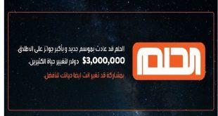 مسابقة الحلم Mbc2020 ارسل رساله اوربح 3 مليون دولار أمريكي انت رابح الشيك Diy And Crafts Diy Crafts