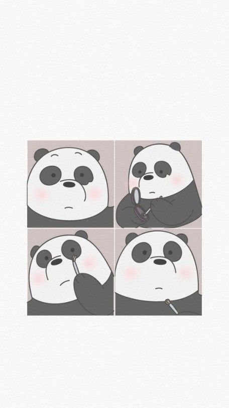 Love Pink Tumblr Wallpapers In 2020 We Bare Bears Wallpapers Bear Wallpaper Cute Panda Wallpaper