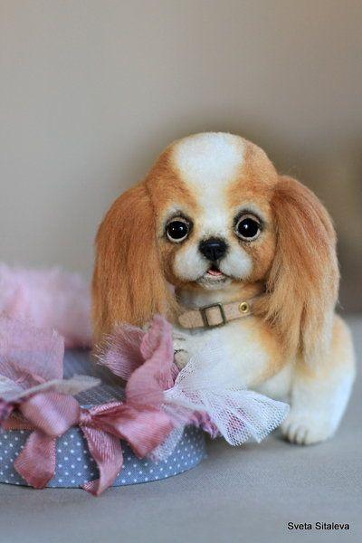 Little Button By Sveta Sitaleva Spaniel Puppies Puppies Dogs Puppies