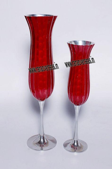 Metal Flower Vase Aluminium Flower Vases Designed By Artist