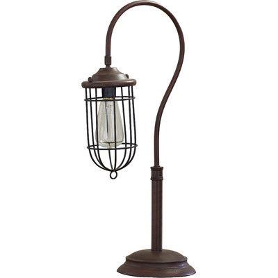 Samsula 24 Arched Table Lamp Lamp Table Lamp Edison Bulb Table Lamp