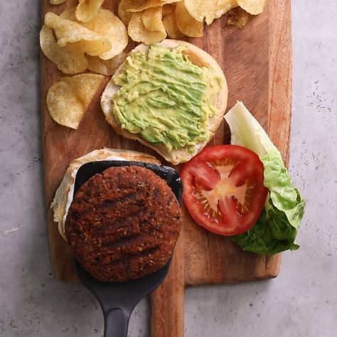 Quinoa Burger. This vegan quinoa burger recipe is easy, healthy and packed with protein. There's no food processor required and it comes together quickly in one bowl!   Vegan   Healthy Recipes   Easy Dinner   #vegan #dinner #burger #healthy #feelgoodfoodie #quinoa