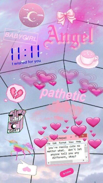 Baddie Aesthetic Wallpaper Aesthetic Wallpapers Cute Cartoon Wallpapers Pink Aesthetic