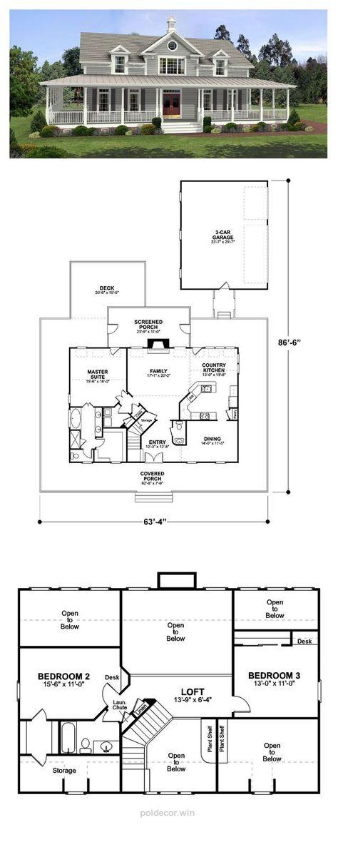 Plan Architecte Maison Gratuit #1 Projets à essayer Pinterest