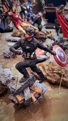 Avengers Endgame Battle Diorama Set by Ironstudios