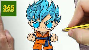 Resultado De Imagen Para Estilo Kawaii Dibujo Dibujos Kawaii Como Dibujar A Goku Dibujos Kawaii Faciles