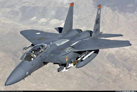 The Boeing dual-role fighter is an advanced long-range interdiction fighter and tactical aircraft. The is the latest version of the Eagle, a Mach twin-engine fighter. More tha… Military Jets, Military Aircraft, Air Fighter, Fighter Jets, Aircraft Pictures, Jet Plane, Fighter Aircraft, Air Force, Photos