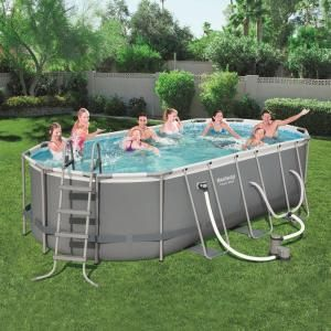 Rectangle Summer Waves Elite Above Ground Pools Pools The Home Depot In 2020 Swimming Pools Diy Swimming Pool In Ground Pools