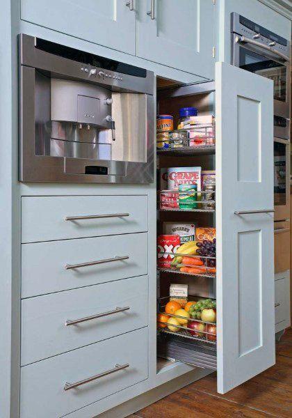 Pantry Design Modular Kitchen Cabinets, Kitchen Storage Furniture Ikea