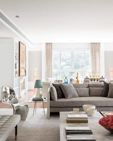 Apartamento feminino e delicado da estilista Carol Bassi   eh!DÉCOR