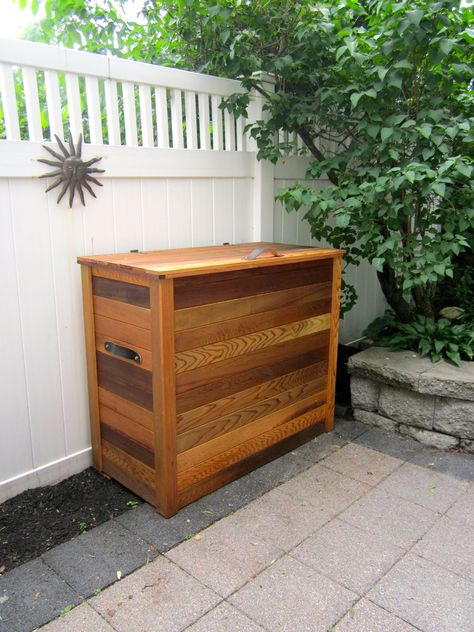 Leather handles easily moves the chest when empty and give it a nice ...