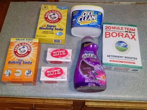 Diy How To Make Your Own Powdered Laundry Soap Diy Laundry