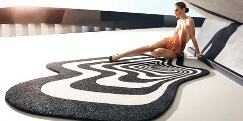 Vondom: the best in outdoor chairs, sunbeds and daybeds: Twist&Shout carpet, Karim Rashid, 2013