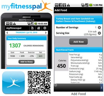 My Fitness pal; trying this again!