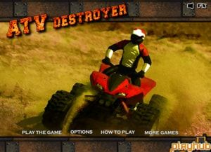 Play Atv Destroyer Unblocked Game Online Free Bikes Games Games Online Games