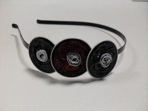 Recycling: Nespresso capsules recycled. Headband.