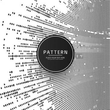 Modern Halftone Pattern Background Abstract Background Backdrop