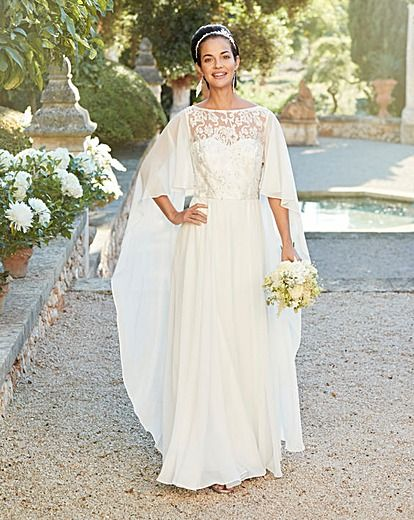 Joanna Hope Bridal Dress 1960s Wedding Dresses Cape Wedding Dress Wedding Dress Styles