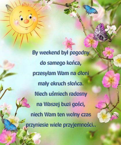 Kartka pod tytułem Słonecznego weekendu (With images) | Kartki ...
