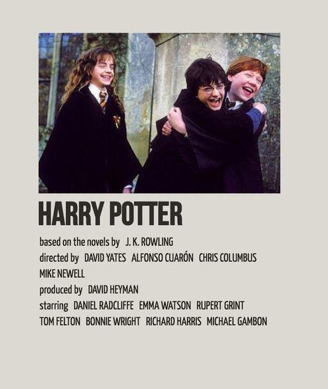 harry potter alternative movie poster