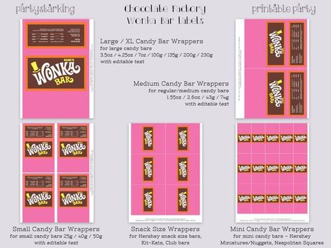 List Of Pinterest Wonka Bar Wrapper Etsy Pictures Pinterest Wonka