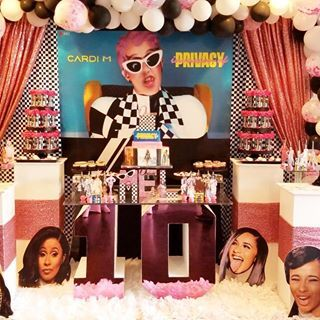 Tbt Today S Throwback Is In Honor Of Iamcardib Happy Birthday Cardi Everyone Wish Her A Happy Birthday Ca Cardi B Birthday Birthday Kids Birthday Party