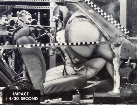 Photograph: General Motors, 1960s. From the essay: It's Smart to Use a Crash Test Dummy