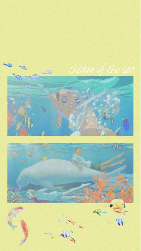 children of the sea wallpaper