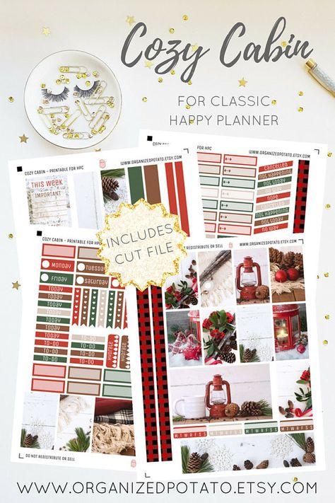 mistletoe Cozy Cabin - Winter Christmas...