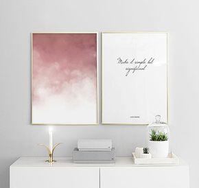 Bilderwand Im Schlafzimmer Gestaltungsbeispiele Fur Poster Im