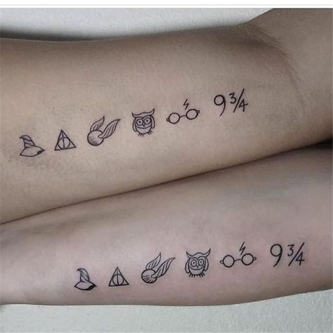 60 Meaningful Unique Match Couple Tattoos Ideas Matching Couple Tattoos Ideas Coup In 2020 Tiny Harry Potter Tattoos Harry Potter Tattoo Small Harry Potter Tattoos