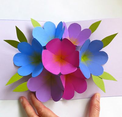 17 best images about gift ideas on pinterest string art mothers by martha stewart pop up flower card perfect for mothers day or instead of mightylinksfo