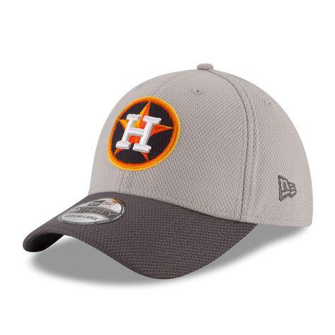 sports shoes c5312 07945 Houston Astros New Era Team Grayed 39THIRTY Flex Hat - Gray Graphite