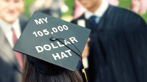 I didn't decorate my cap for either high school graduation, but after getting two bachelor's degrees, taking over 200 undergrad credit hours and over 150 graduate credit hours, I'm pretty sure my undergrad cap will NEED to have this!