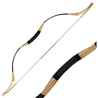 """55/"""" Archery Traditional Hunting Recurve Bow Mongolian Longbow Shooting Target"""