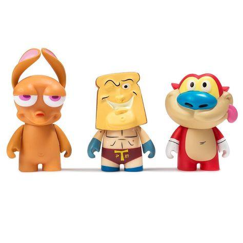 Nickelodeon Ren /& Stimpy Horse Man Mini Figure Toy Blind TV Box
