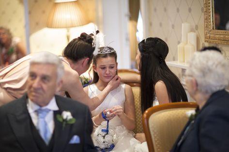 Emotional Bridesmaid At Canterbury